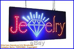 Jewelry Sign Neon Sign LED Open Sign Store Sign Business Sign Window Sign