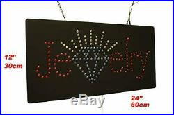 Jewelry Sign TOPKING Signage LED Neon Open Store Window Shop Business Display