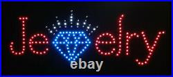 Jewlery LED Sign Super Bright High Quality LED Jewelry Store Sign Large