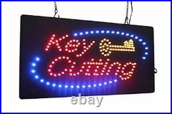 Key Cutting Sign, TOPKING Signage, LED Neon Open, Store, Window, Shop, Business