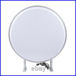 LED Double Sided Round Light Box Outdoor Projecting Sign Store Illuminated Sign