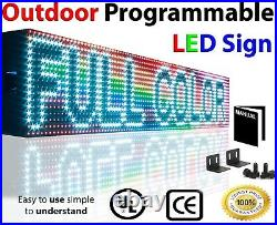 LED SIGNS OPEN NEON FULL COLOR 7 x 88 BUSINESS 10MM STORE SHOP DIGITAL DISPLAY