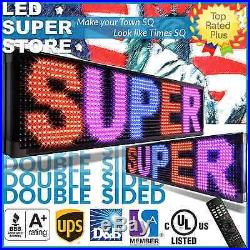 LED SUPER STORE 3C/RBP/IR/2F 12x41 Programmable Scroll. Message Display Sign
