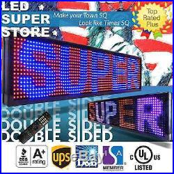 LED SUPER STORE 3C/RBP/IR/2F 15x53 Programmable Scroll. Message Display Sign