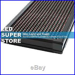 LED SUPER STORE 3C/RBP/IR/2F 15x66 Programmable Scroll. Message Display Sign