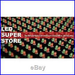 LED SUPER STORE 3C/RGY/IR/2F 22x60 Programmable Scroll. Message Display Sign