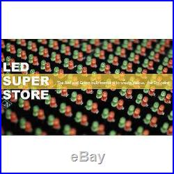 LED SUPER STORE 3C/RGY/PC/2F/AP 22x79 Programmable Scroll Message Display Sign