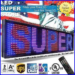 LED SUPER STORE 3COL/RBP/IR 15x141 Programmable Scrolling EMC Display MSG Sign