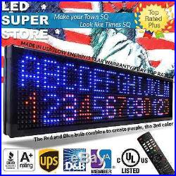 LED SUPER STORE 3COL/RBP/IR 15x40 Programmable Scrolling EMC Display MSG Sign