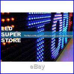 LED SUPER STORE 3COL/RBP/IR 15x78 Programmable Scrolling EMC Display MSG Sign