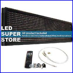 LED SUPER STORE 3COL/RBP/IR 22x98 Programmable Scrolling EMC Display MSG Sign