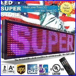 LED SUPER STORE 3COL/RBP/IR 40x60 Programmable Scrolling EMC Display MSG Sign