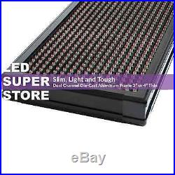 LED SUPER STORE 3COL/RBP/PC 19x52 Programmable Scrolling EMC Display MSG Sign