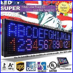 LED SUPER STORE 3COL/RBP/PC 22x60 Programmable Scrolling EMC Display MSG Sign