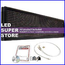 LED SUPER STORE 3COL/RBP/PC 52x102 Programmable Scrolling EMC Display MSG Sign