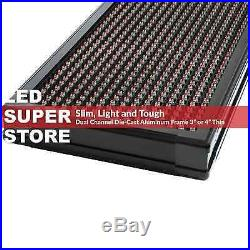 LED SUPER STORE 3COL/RGY/IR 15x78 Programmable Scrolling EMC Display MSG Sign