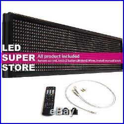 LED SUPER STORE 3COL/RWP/IR 12x41 Programmable Scrolling EMC Display MSG Sign