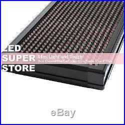 LED SUPER STORE 3COL/RWP/PC 21x60 Programmable Scrolling EMC Display MSG Sign