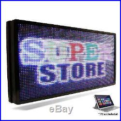 LED SUPER STORE Full Color 12x60 Programmable MSG. Scrolling EMC Outdoor Sign