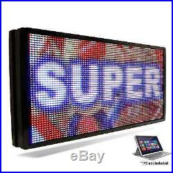 LED SUPER STORE Full Color 15x78 Programmable MSG. Scrolling EMC Outdoor Sign