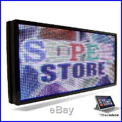 LED SUPER STORE Full Color 19x69 Programmable MSG. Scrolling EMC Outdoor Sign
