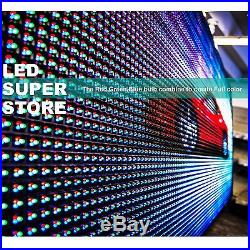 LED SUPER STORE Full Color 28x91 Programmable MSG. Scrolling EMC Outdoor Sign