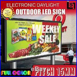 LED SUPER STORE Full Color 31x41 Programmable MSG. Scrolling EMC Outdoor Sign