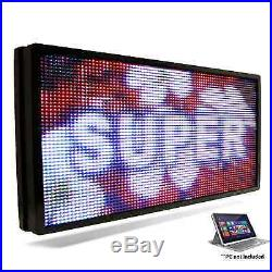 LED SUPER STORE Full Color 31x60 Programmable MSG. Scrolling EMC Outdoor Sign