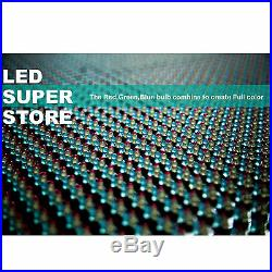 LED SUPER STORE Full Color 31x89 Programmable MSG. Scrolling EMC Outdoor Sign