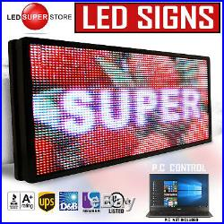 LED SUPER STORE Full Color 36x85 Programmable MSG. Scrolling EMC Outdoor Sign