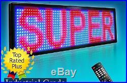 LED Sign Super Store 15 x 40 Tricolor RBP P20 Programmable Outdoor Message