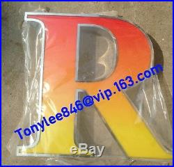 LED channel letters shop sign advertising logos store sign, 24inches tall