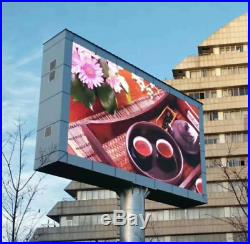 LED programable electronic sign/ billboard for store front P6 13ft X 10ft
