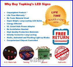 Lottery Lotto Sign Neon Sign LED Open Sign Store Sign Business Sign Window Sign