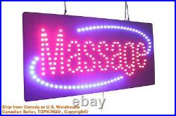 Massage Sign Neon Sign LED Open Sign Store Sign Business Sign Window Sign