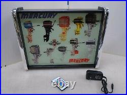 Mercury Outboard Motors LED Store/Rec Room Display light up SIGN