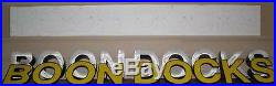 New 18 LED lighted channel letters store front sign letters