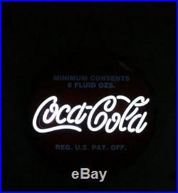 New Coca-Cola NE002 LED Neon Sign Bottle Cap Neon Signage For Stores H50cm