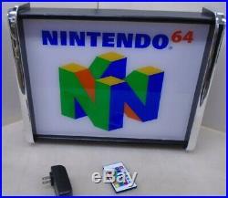 Nintendo 64 LED Store/Rec Room Display light up SIGN