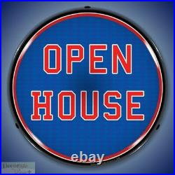OPEN HOUSE Sign 14 LED Light Store Business Advertise USA Lifetime Warranty New