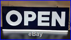 OPEN LED SIGN COOL DESIGN Large Bright for Retail, Restaurant Store, Shop