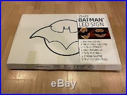 Official DC Comics Batman 1 Per Store Retailer Exclusive LED Sign 15x25! RARE
