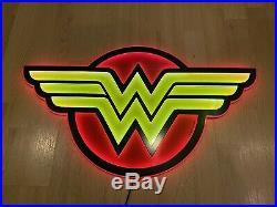 Official DC Comics Wonder Woman 1 Per Store Retailer Exclusive LED Sign 15x25