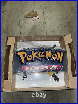 Officially Licensed Pokemon LED Light Up Glass Retail Store Display Sign NEW