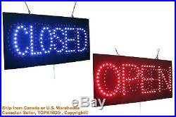 Open Closed Sign Neon Sign LED Open Sign Store Sign Business Sign Window Sign