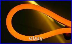 Orange 330' LED Neon Rope Light for Home Bar Store DIY Sign Decor 110V Outdoor