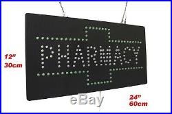 Pharmacy Sign Neon Sign LED Open Sign Store Sign Business Sign Window Sign