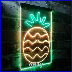 Pineapple Fruit Store Dual Color LED Neon Sign st6-i3296