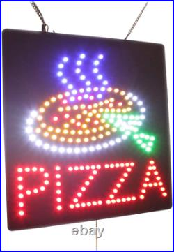 Pizza Sign, TOPKING Signage, LED Neon Open, Store, Window, Shop, Business, Displ