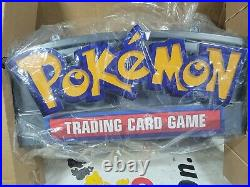 Pokemon TCG Hobby Sign 20th Anniversary Store Retail display Sign LED NEW IN BOX